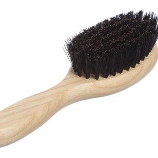 Овальная массажная щётка для волос с натуральной щетиной_фото1