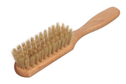 Щётка для волос из бука с натуральной щетиной фото 1