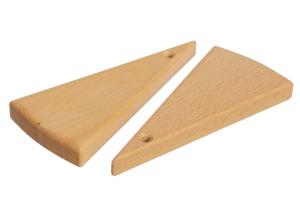 Доска для канапе треугольная арт. ДККТ-001 фото 2