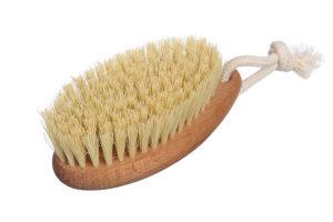 Щётка для сухого массажа из бука и волокна тампико Класс М компакт Экобраш фото 1