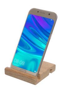 Деревянная подставка для смартфона/планшета_фото 4
