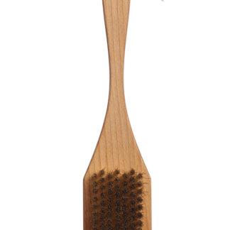Щётка для гриля_рукоятка из бука_латунный ворс_скребок из стали_компания Экобраш_фото1